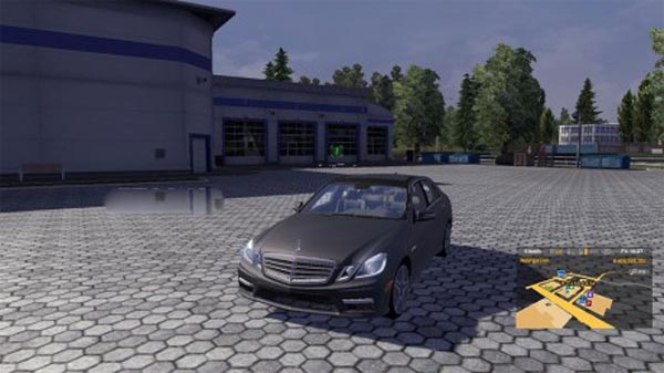Mercedes E63 Mod For Ets 2