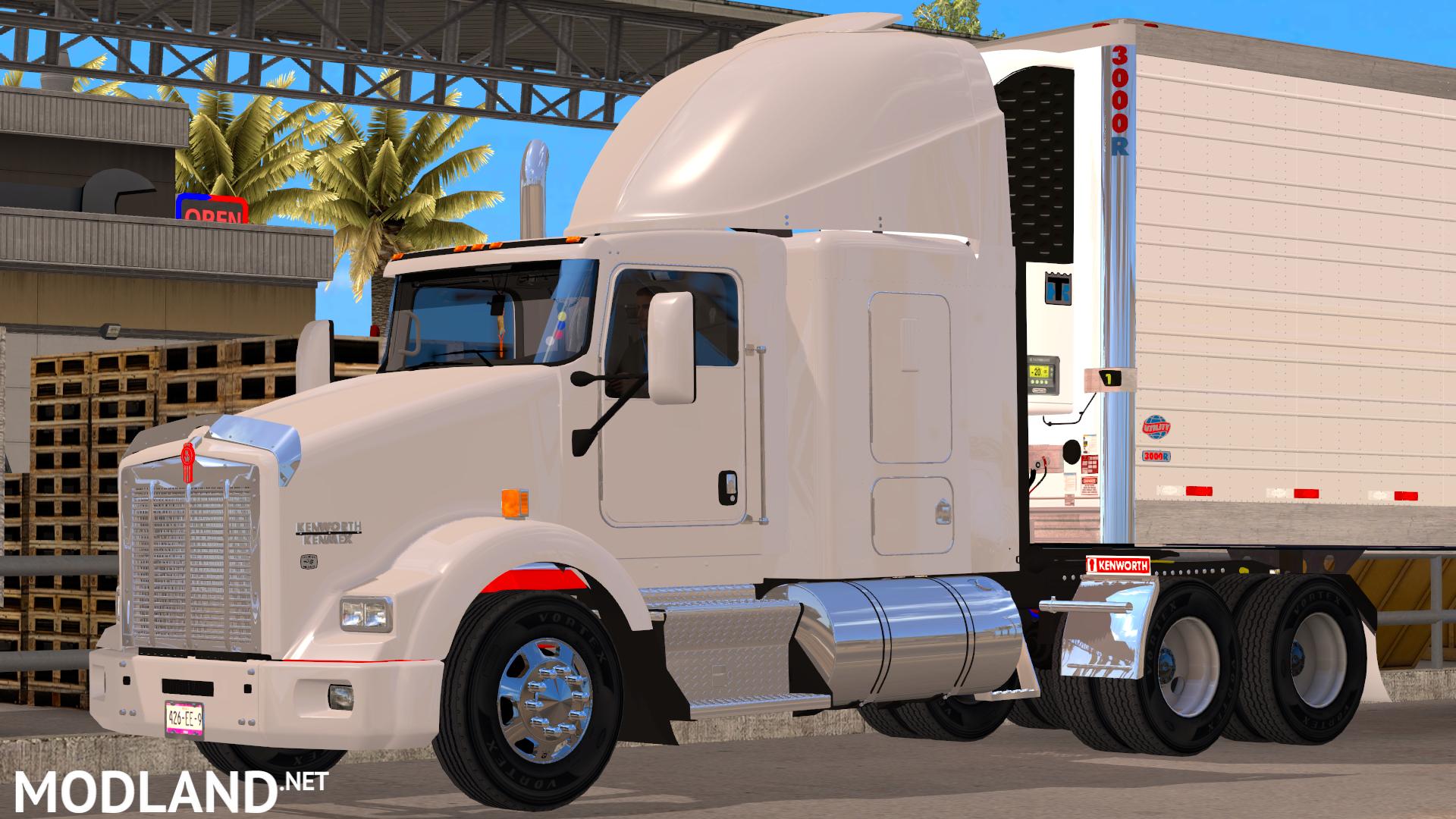 Kenworth t800 mod for American Truck Simulator, ATS