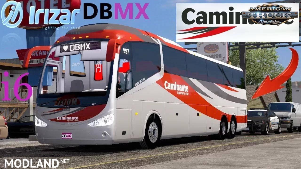 Bus IRIZAR i6 + Interior v1.5 1.36.x