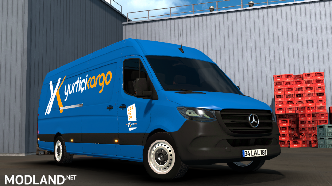 Mercedes-Benz Sprinter 2019 v1.2 ATS 1.36