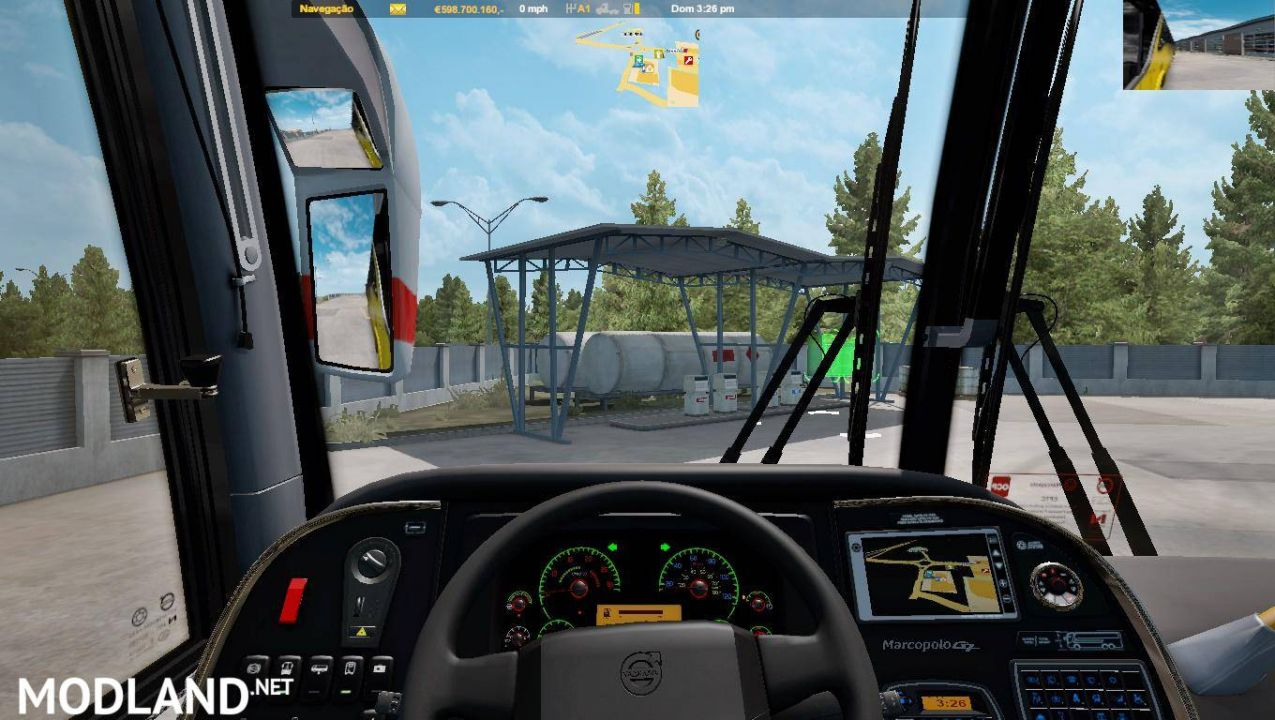 Marcopolo G7 1200 volvo For Ats 1.36 and 1.37 beta