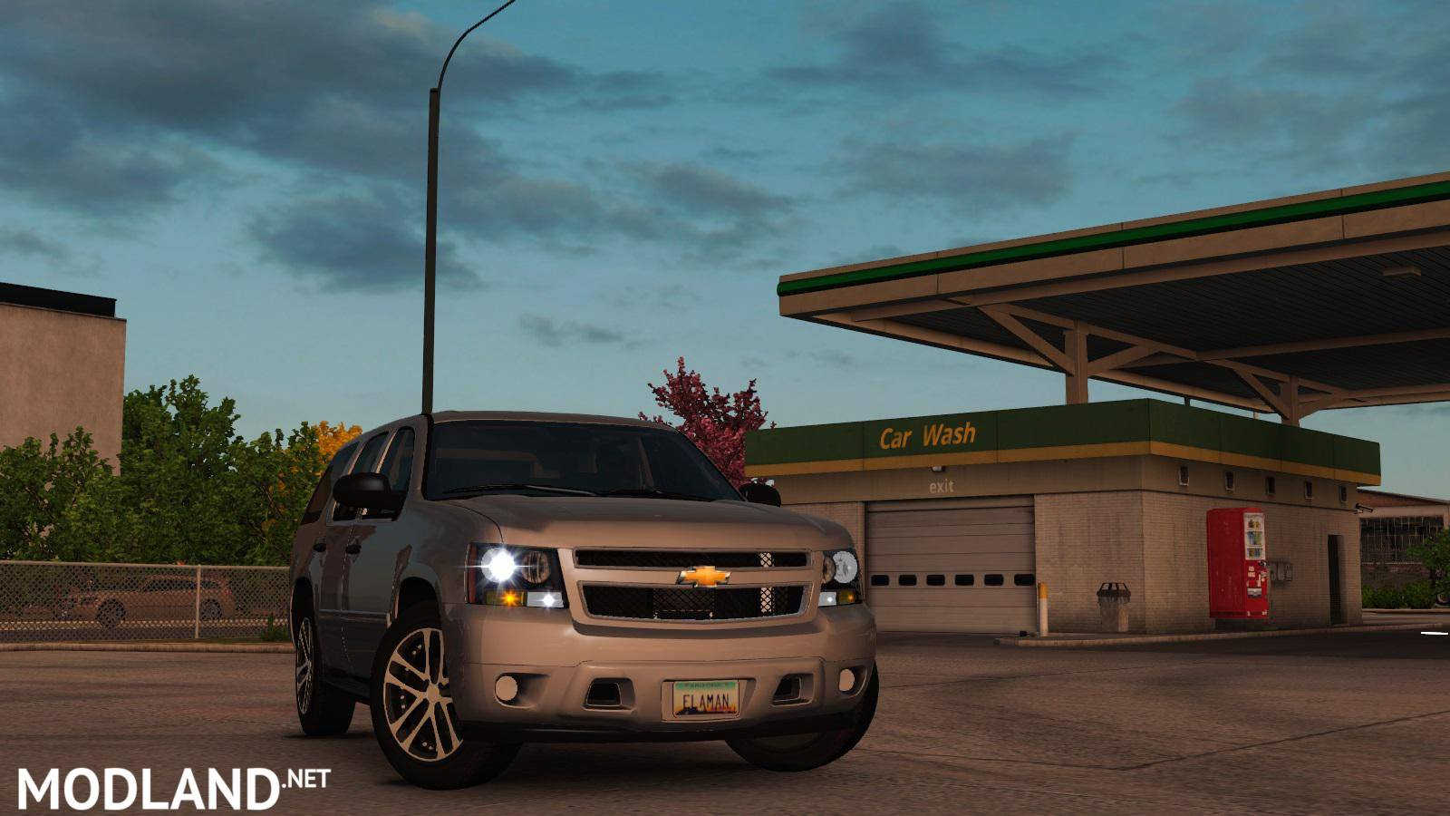 Chevrolet Tahoe 2007 v 1 0 ATS 1 35 mod for American Truck