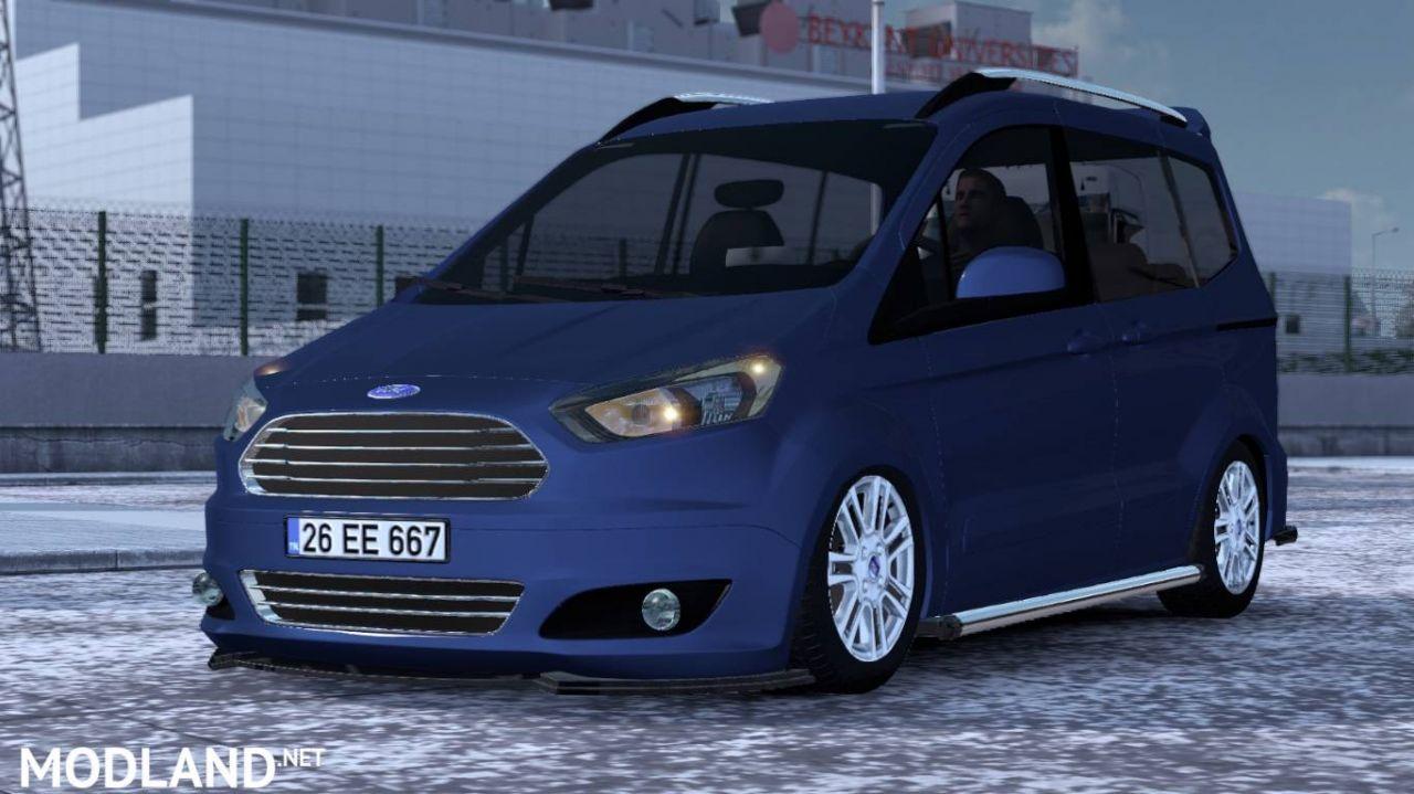 Ford Tourneo Courier V1R30 ATS (1.37)