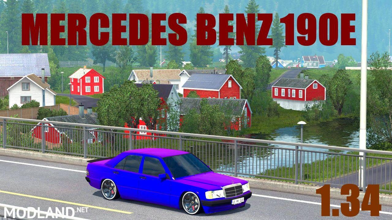 Mercedes Benz 190E ETS2 1.34 Fix