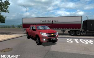 Chevrolet S10 High Country for ATS 1.33-1.34.x, 1 photo