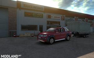 Volkswagen Amarok v 1.1 for ATS , 3 photo