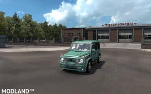 Mercedes G class (Gelandewagen) v1.1 for ATS 1.34.x(updated)
