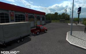 Ford -100 (1956) v1.2 + updated mini-trailer for ATS 1.35.x, 2 photo