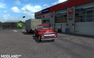Ford -100 (1956) v1.2 + updated mini-trailer for ATS 1.35.x