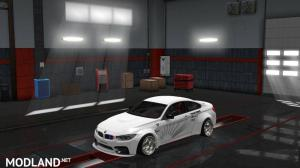 BMW M4 F82 and Modification V2