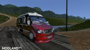 Mercedes Sprinter 2017 Dolmus ATS v1.2  (v1.33.x, 1.34.x) - External Download image