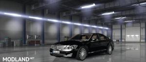 Mercedes Benz s350 4matic 2009 ATS v1.33
