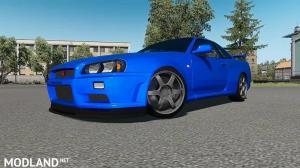 Nissan Skyline GT-R R34 V-Spec II v1.0 ATS 1.35
