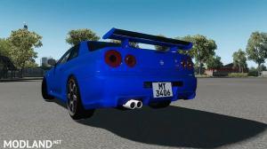 Nissan Skyline GT-R R34 V-Spec II v1.0 ATS 1.35 , 2 photo