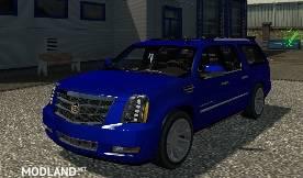 Cadillac Escalade ESV for ATS v. 1.30.x - FIXED FLARES