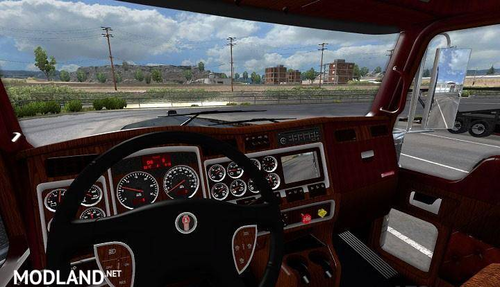 Kenworth w900 interior mod for american truck simulator ats kenworth w900 interior 1 photo voltagebd Images