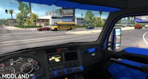 Kenworth T680 Bluey interior, 1 photo