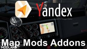 Yandex Navigator Normal & Night Version Map Mods Addons v3.0