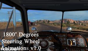 1800 Degrees Steering Wheel Animations v 1.0