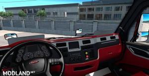 Ferrari Interior for Peterbilt 579