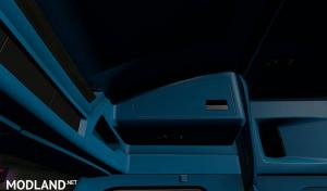 Blue Interior for Kenworth T680