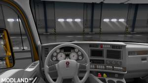 Kenworth T680 White Gauges+Interior, 3 photo