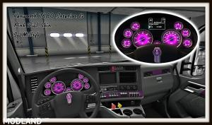 Kenworth T680 Interior & Pink Dial Skin , 1 photo