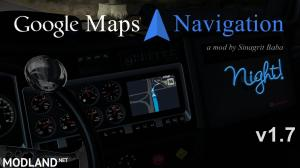 ATS - Google Maps Navigation Night Version v 1.7, 1 photo