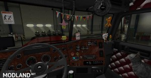 Freightliner Classic v 3.1.3 SiSL SCS Cabin Accessories Addon