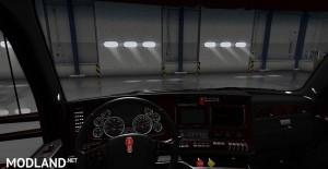 Kenworth T680 Black Lux Interior