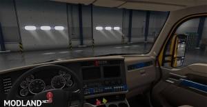 Kenworth T680 blue interior, 2 photo