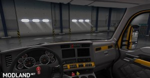 Kenworth T680 Paint Interior