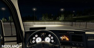 Kenworth T680 White Gauges + Interior v 1.2, 3 photo
