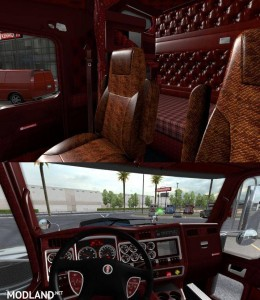 Kenworth W900 Interior v 1.1, 2 photo