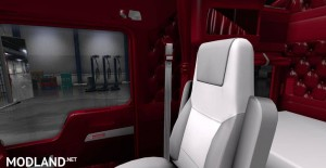 Kenworth W900 Red Interior, 2 photo