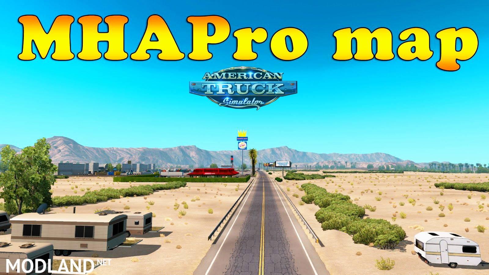 Photos MHAPro 129 for ATS v129x mod
