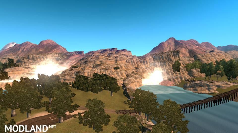 Map Area 51 Mod For American Truck Simulator Ats