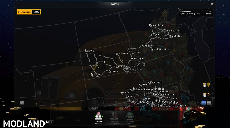 Volvo Truck Parts >> Mario ATS Map v1.5.2 for v1.5 mod for American Truck Simulator, ATS