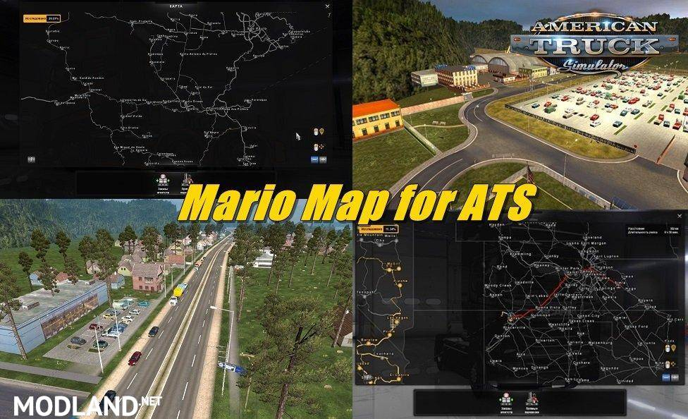 Mario Map for ATS 131x Mario