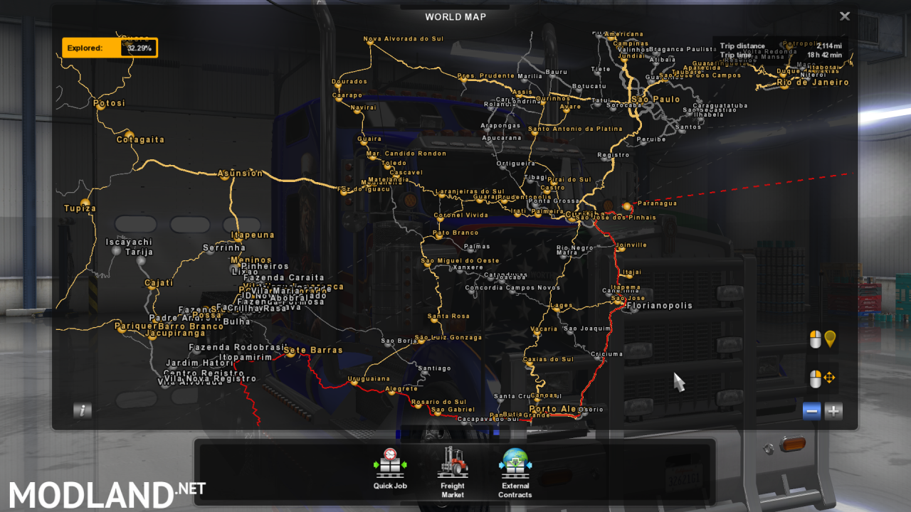 MARIO MAP FOR V1.6.X Fixed for ATS 1.6.x