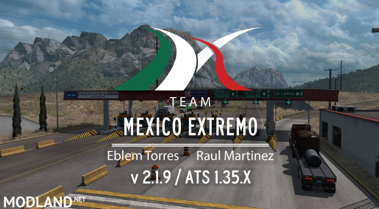 Mexico Extremo 2.1.9 for ATS 1.35.x