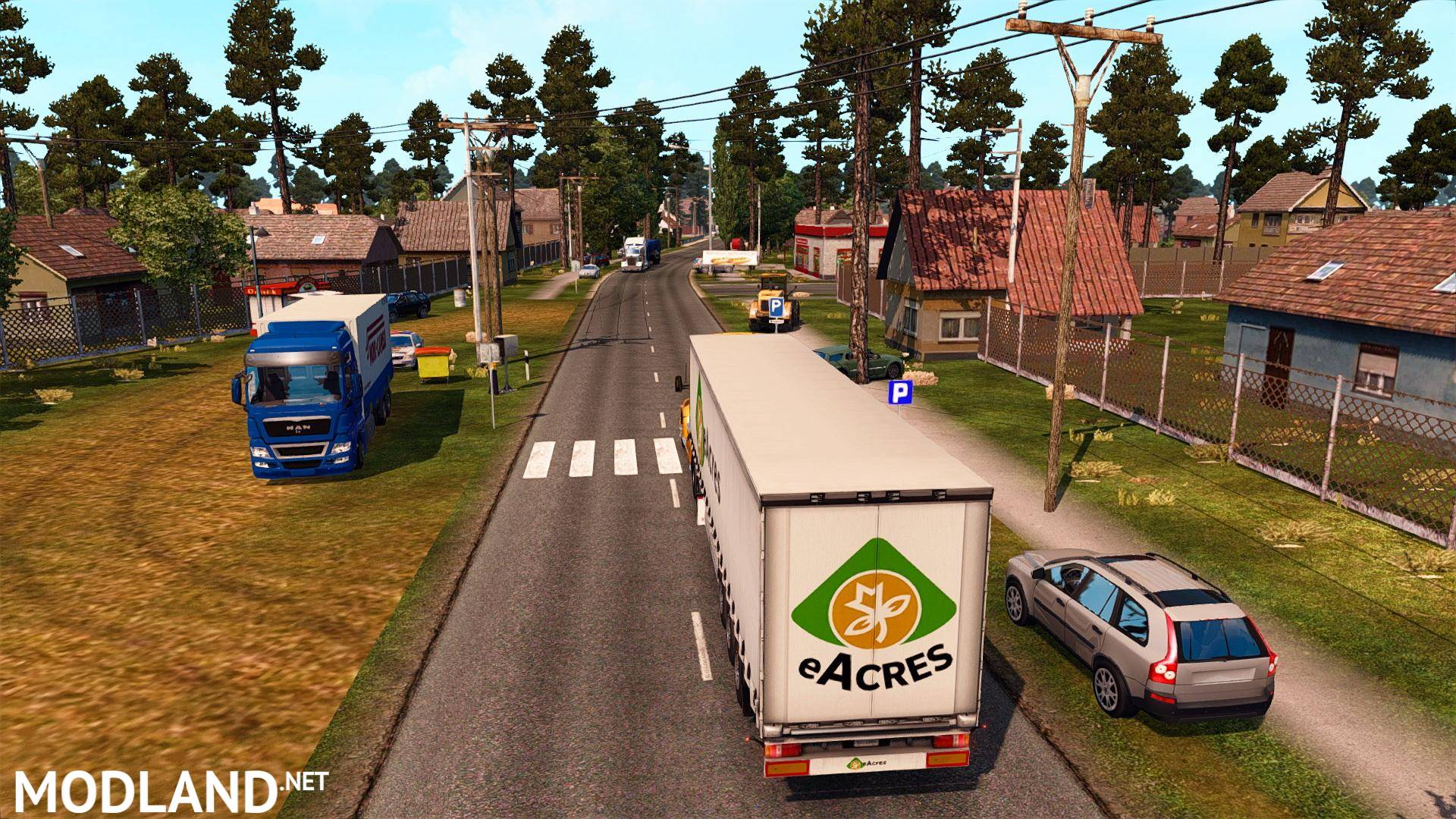South America Map for ATS
