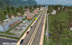 Mario Map for ATS 1.32.x Upd 19.09.18, 3 photo