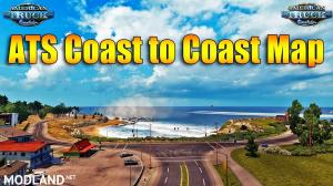 Coast to Coast Map v2.3 by Mantrid [1.29.x], 1 photo