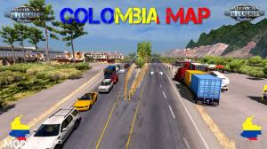 Colombia Map for ATS [1.28] - External Download image