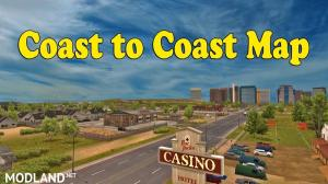 Coast to Coast Map - v2.7.2 [1.35] - External Download image