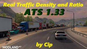 Real Traffic Density and Ratio ATS 1.33.a, 1 photo