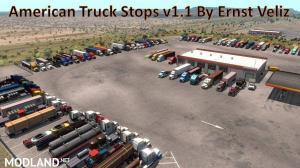 American Truck Stops v1.1 by Ernst Veliz 1.36.x, 1 photo