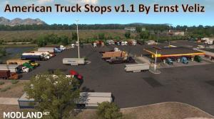 American Truck Stops v1.1 by Ernst Veliz 1.36.x, 2 photo