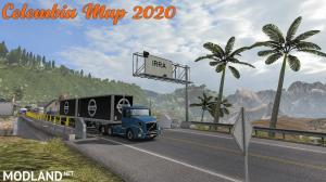 New Colombia Map Mod 2020 for American Truck Simulator 1.36/1.37, 2 photo